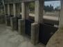 Ejecución de tareas de mantenimiento sobre compuertas en Barrera III del canal Matriz