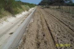 Limpieza zona de Camino de los Canales San Martin, Contreras Lopez y Maco Manogasta 1 2015
