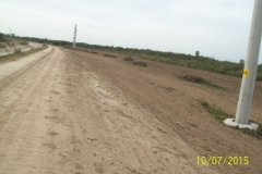 Limpieza zona de Camino de los Canales San Martin, Contreras Lopez y Maco Manogasta 11 2015