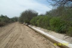 Limpieza zona de Camino de los Canales San Martin, Contreras Lopez y Maco Manogasta 13 2015