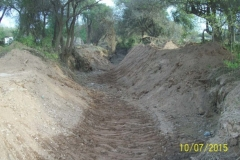Limpieza zona de Camino de los Canales San Martin, Contreras Lopez y Maco Manogasta 16 2015
