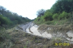 Limpieza zona de Camino de los Canales San Martin, Contreras Lopez y Maco Manogasta 17 2015