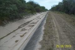 Limpieza zona de Camino de los Canales San Martin, Contreras Lopez y Maco Manogasta 5 2015