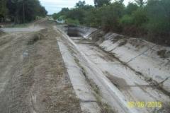 Limpieza zona de Camino de los Canales San Martin, Contreras Lopez y Maco Manogasta 6 2015
