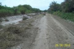 Limpieza zona de Camino de los Canales San Martin, Contreras Lopez y Maco Manogasta 7 2015