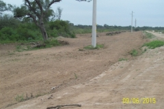Limpieza zona de Camino de los Canales San Martin, Contreras Lopez y Maco Manogasta 8 2015