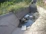Limpieza de los sifones en los canales Contrera López y Maco Manogasta.