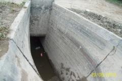 Limpieza sifones en canales Contrera Lopez y Maco Manogasta - Vista posterior a limpieza 4 2015