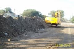 Limpieza del Canal San Martin en el Sector Urbano - Etapa de trabajo vista 3 2015
