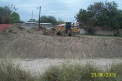Limpieza del Canal San Martin en el Sector Urbano - Etapa de trabajo vista 4 2015