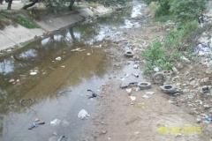 Limpieza del Canal San Martin en el Sector Urbano - estado del tramo vista 2 2015