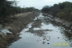 Limpieza del Canal San Martin en el Sector Urbano - trabajos concluidos vista 1 2015