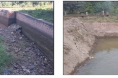 Limpieza del Canal Sur 1 Seccion. Etapa de Trabajo y Trabajo Concluido 1