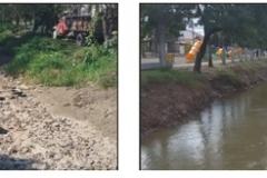 Limpieza del Canal Sur 1 Seccion. Etapa de Trabajo y Trabajo Concluido2
