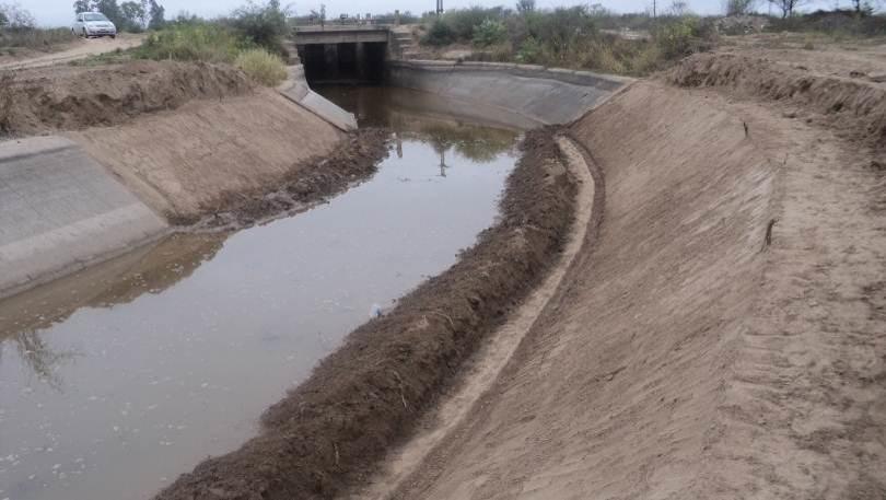 Mantenimiento Canal Norte. Periodo 2012. Etapa de Trabajo