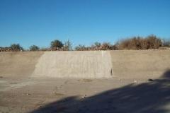 Mantenimiento general del Canal Matriz - reconstruccion de losas de taludes deterioradas