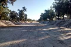 Mantenimiento general del Canal Matriz - Despues de extraccion de basura 2014