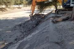 Mantenimiento general del Canal Matriz - extraccion de basura 2014