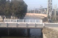 Mantenimiento general del Canal Matriz - Tramo a la altura del cruce con la Av. Belgrano en La Banda despues de limpieza 2008 1