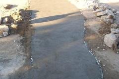 Mantenimiento general del Canal Matriz - reconstruccion de losas de taludes deterioradas 2011