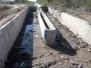 Obra: Limpieza del vertedero-aliviadero en el canal Contrera López