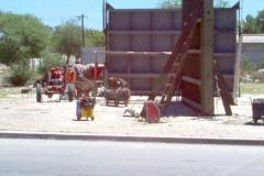 Dique Los Quiroga - Provision y Montaje de compuertas de servicio del desrripiador en etapa constructiva