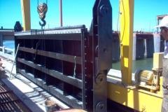 Dique Los Quiroga - Provision y Montaje de compuertas de servicio obra de toma del canal matriz