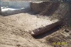 Revestimiento del canal San Martin - etapa de trabajo 11