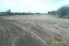 Revestimiento del canal San Martin - etapa de trabajo 5