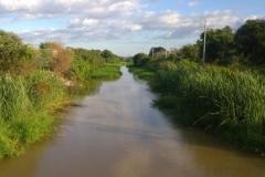 Revestimiento del Canal a Los Romanos. 2015. Estado anterior 1