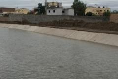Revestimiento del Canal a Los Romanos. 2015. Trabajo concluido 4